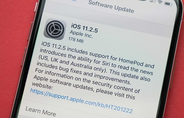 How to update to iOS 11.2.5