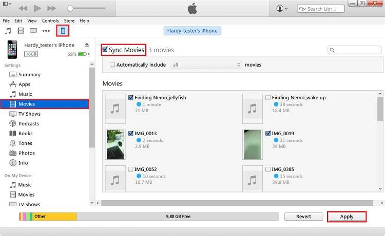 Transfer all photos from iphone to pc itunes