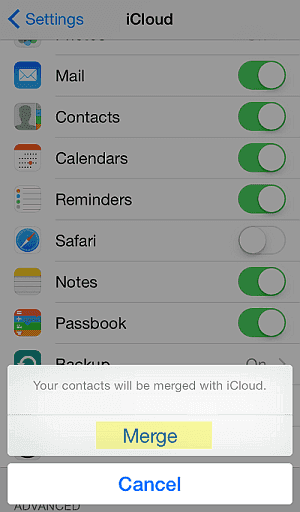 How to recover deleted contacts on iPhone with iCloud