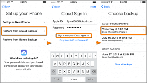 Transfer iMessage from iPhone to iPhone|Transfer iMessages