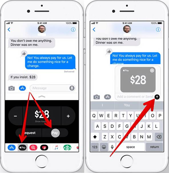 How To Send/Receive Apple Pay Cash Via IMessage In IOS 11