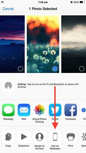 How to set a live wallpaper for iPhone 6/6S lock screen