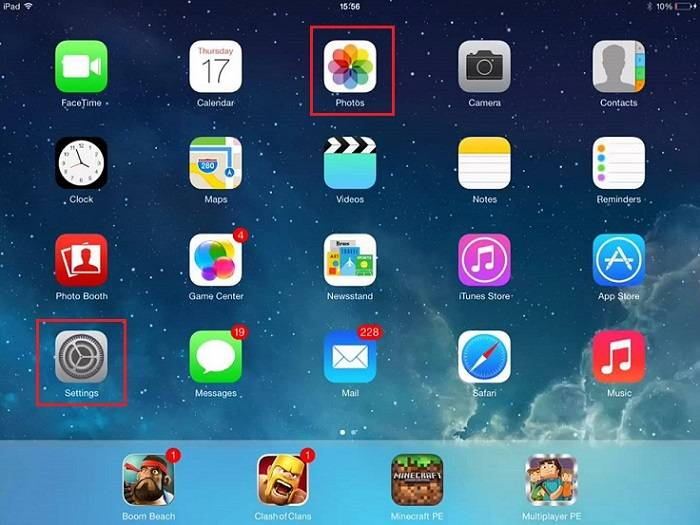How to delete video from iPad