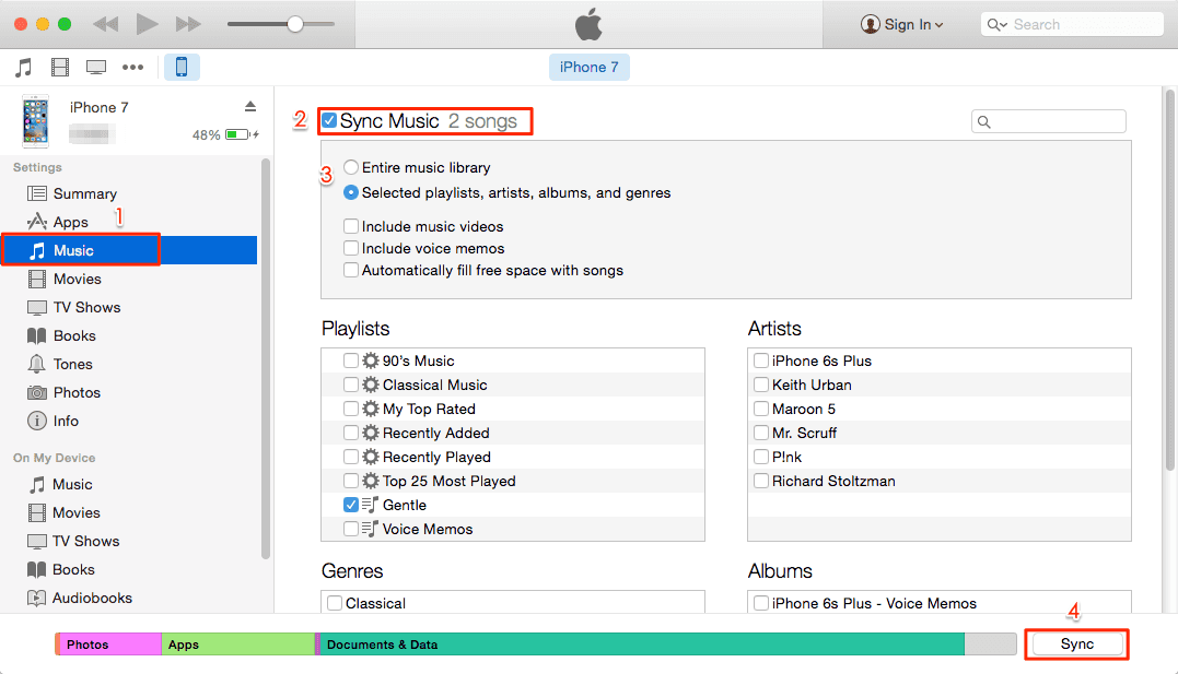 How to copy photos from iphone to mac using itunes