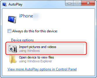 Free 3 Top Ways To Transfer Iphone Photos To Pc Windows 7