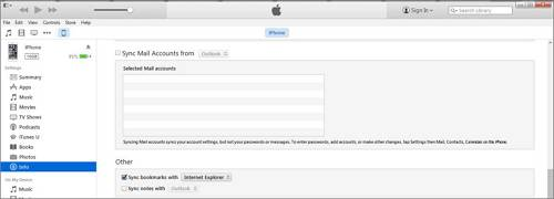 transfer calendar from iPhone to Mac with itunes