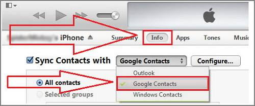 4 Easy Ways to Transfer Contacts from iPhone to Android - EaseUS