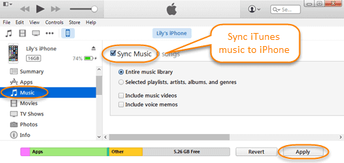 FREE]How to Transfer Music from Laptop to iPhone with