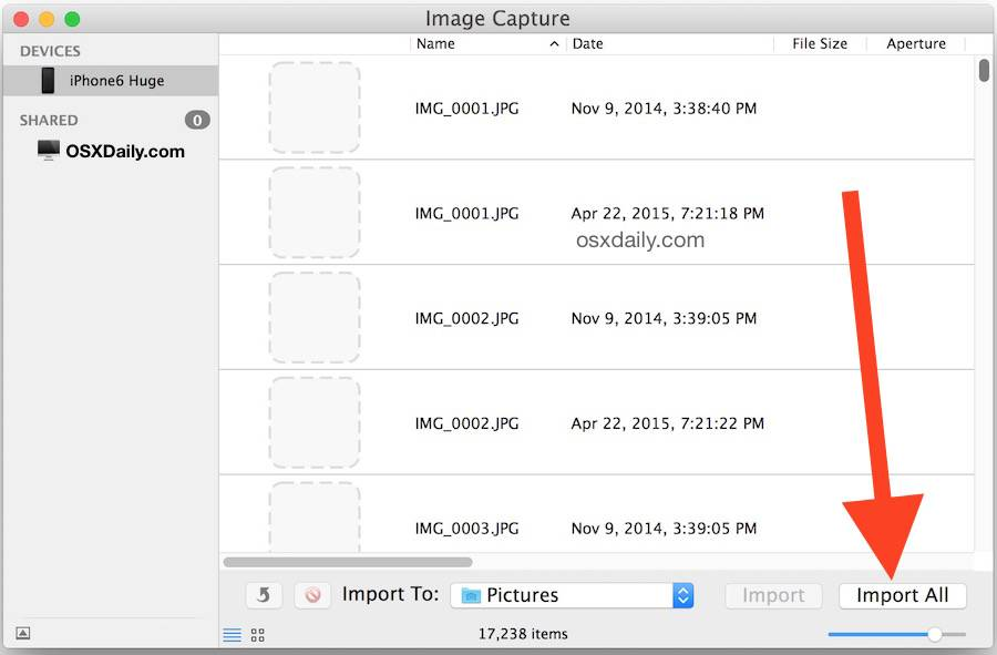 How to transfer photos from iPhone to Mac - Tip 6