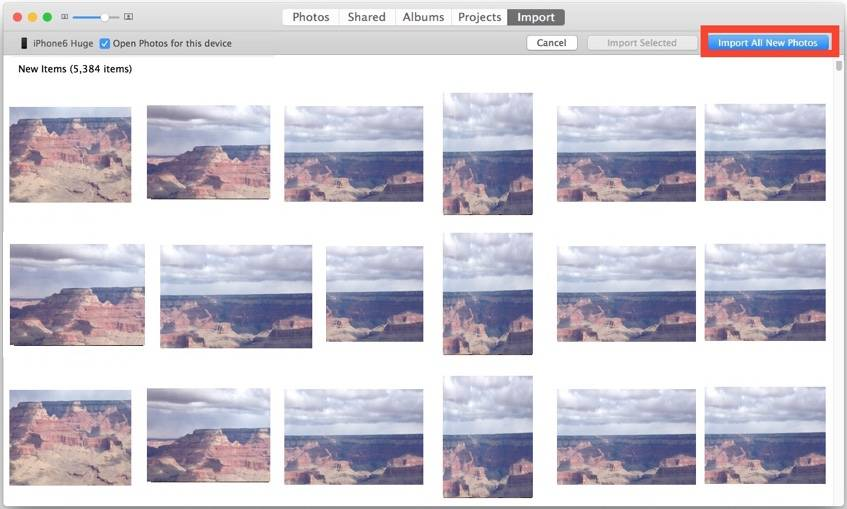 How to transfer photos from iPhone to Mac - Tip 1