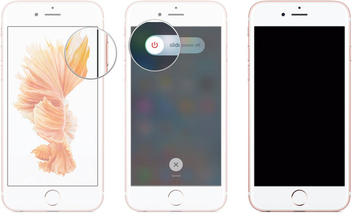 Restore lost contacts on iPhone by restarting your device