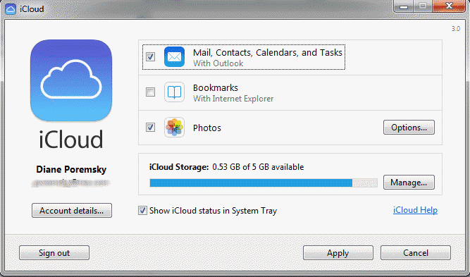 How to sync iCloud calendar with Outlook