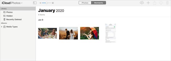 How to upload photos from PC to iCloud