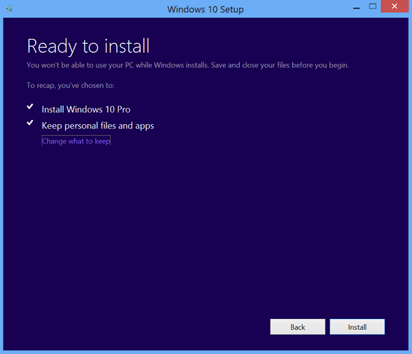 choose another drive to install windows update and fix windows needs more space error
