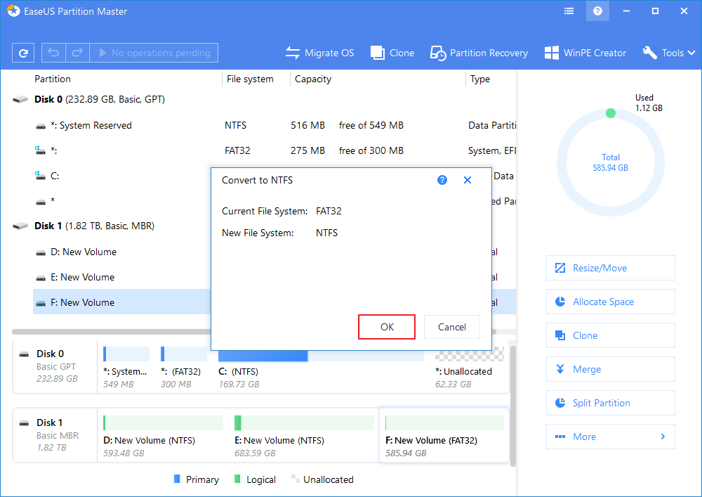 Fixes for 'File Is Too Large for Destination File System' in Windows