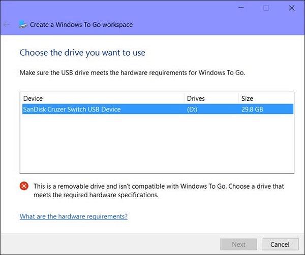 قم بإنشاء محرك أقراص USB يعمل بنظام التشغيل Windows