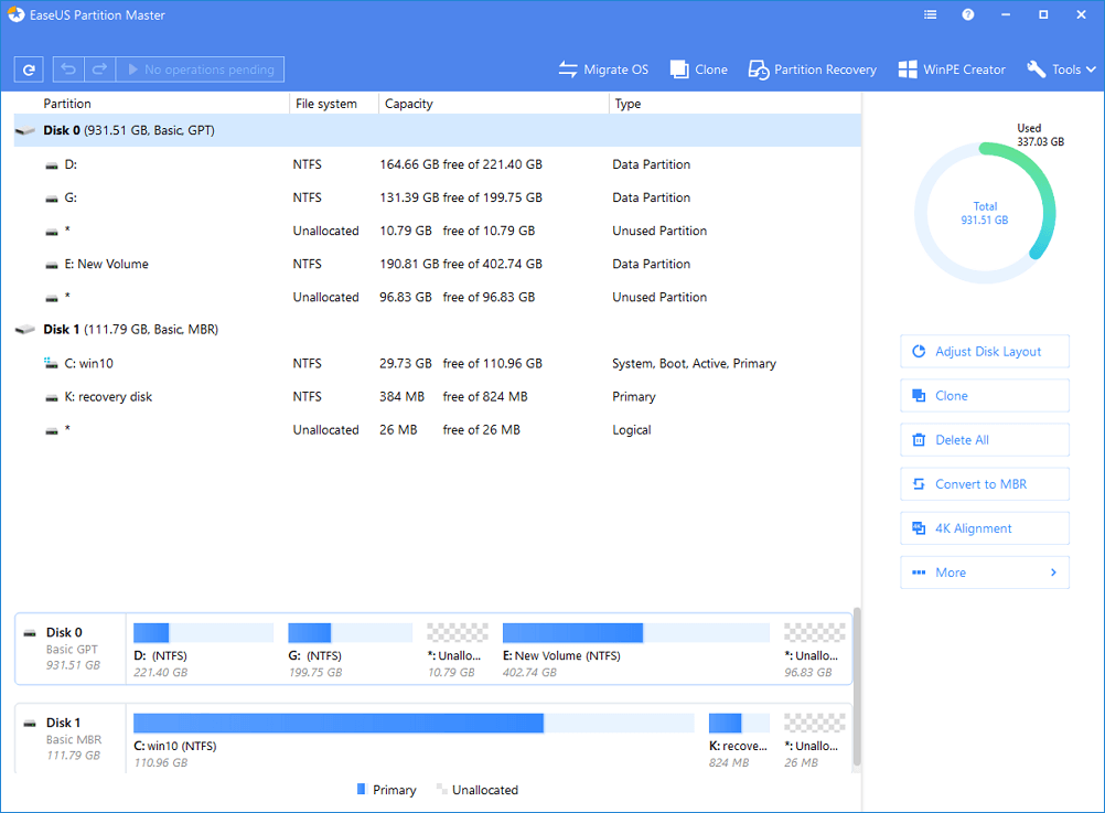 easeus partition master 3.0.2 home edition italiano