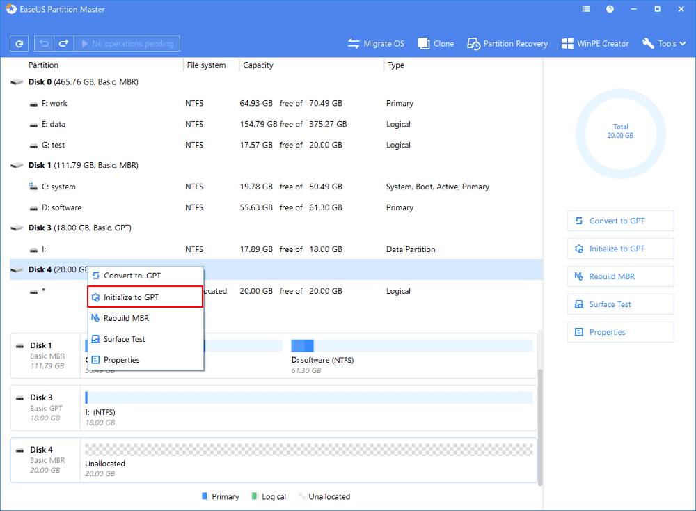 How to Initialize a Hard Drive/SSD in Windows 10/8/7 - EaseUS