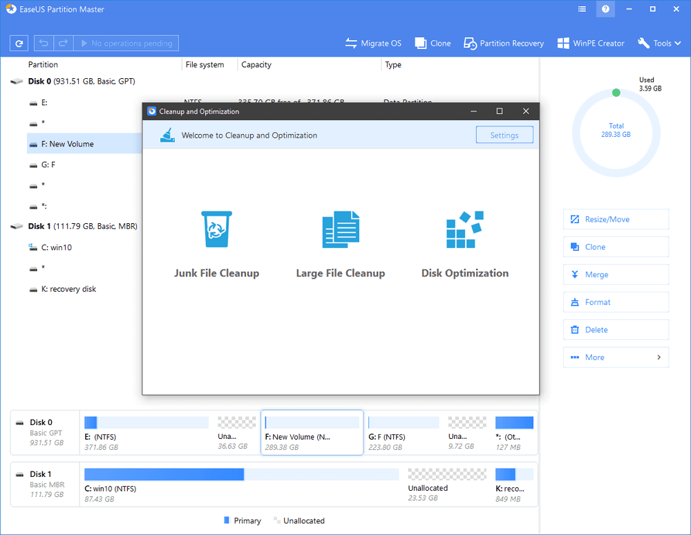 Fixed: Recovery Disk Space Is Full in Windows 10 and Free Up