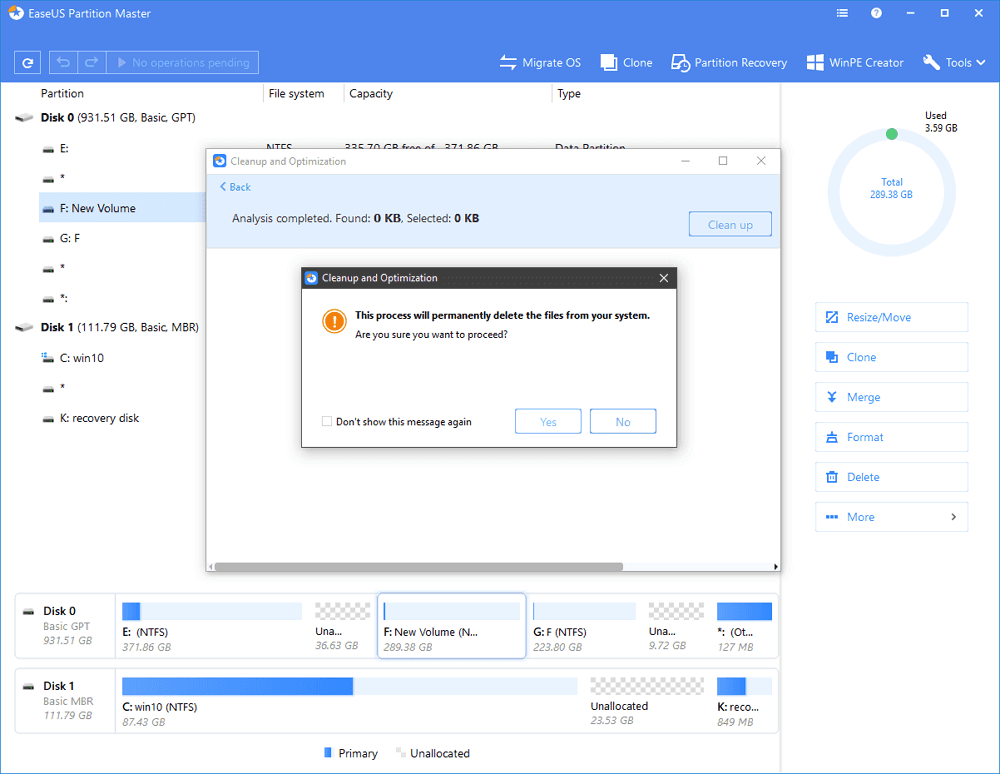 disk cleanup free download