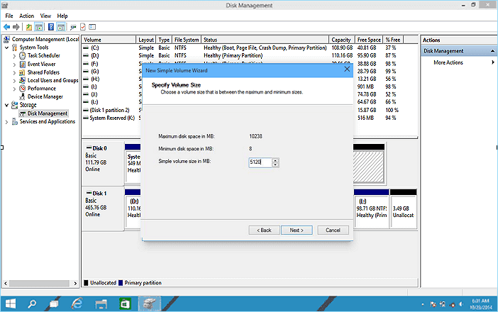 Partition Windows 10 free 2.