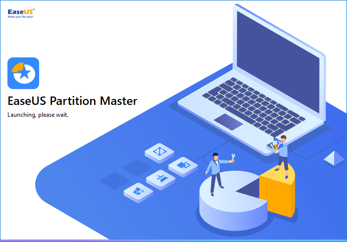 Run EaseUS Partition Master