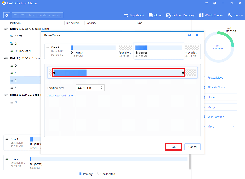How to Move Partition in Windows 10? – EaseUS