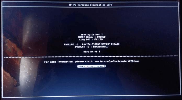 Short Dst Failed How To Fix Hard Disk Dst Short Test Failed Easeus