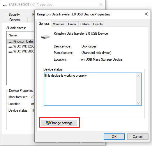 Changes settings to fix low transfer speed issue on SD or USB drive.