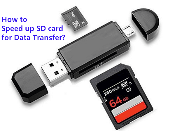 speed up SD card for data transferring