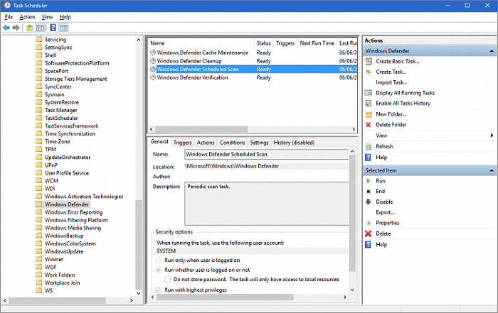 Fixed Antimalware Service Executable High Cpu Disk Or Memory Usage Easeus