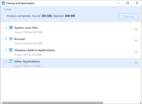 junk files cleanup with EaseUS Partition Master