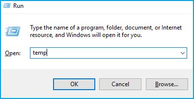 effacer tous les fichiers temporaires