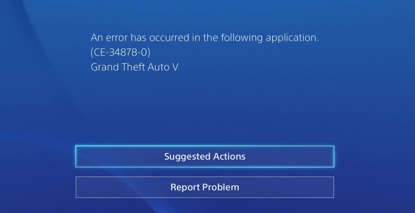 Solved] 5 Ways to Fix PS4 Error Code CE-34878-0 | EaseUS