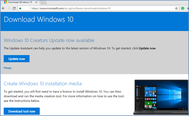 upgrade windows 10 from 32 bit to 64 bit without losing