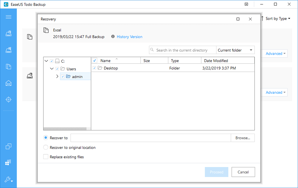 Select Specific File to Recover