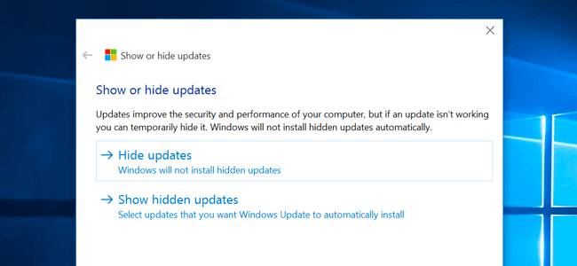 hide KB3163018 update to fix KB3156421 fails to install issue