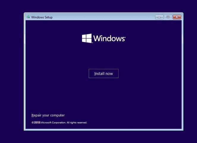 افتح إصلاح جهاز الكمبيوتر الخاص بك لإصلاح mbr