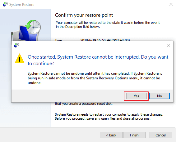 how to get into system recovery windows 10