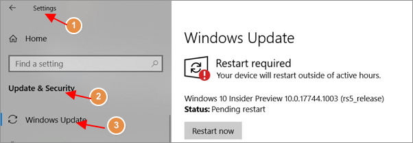 Check and decide how to install Windows update.