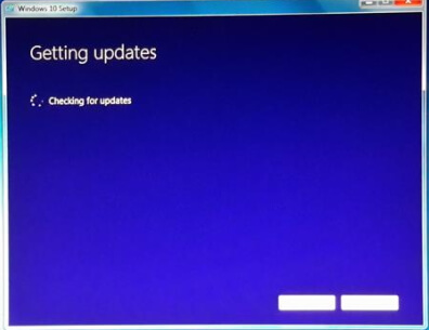 windows update just spins