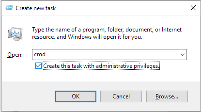 how to open cmd as admin in windows 10