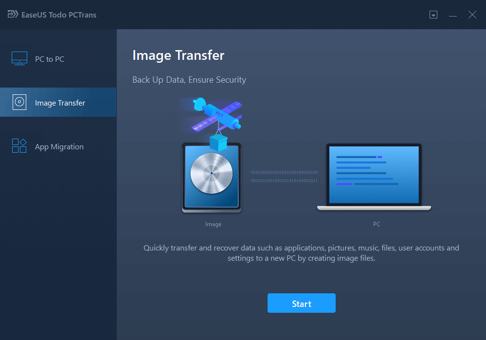 User guide for PC data transfer - EaseUS Todo PCTrans