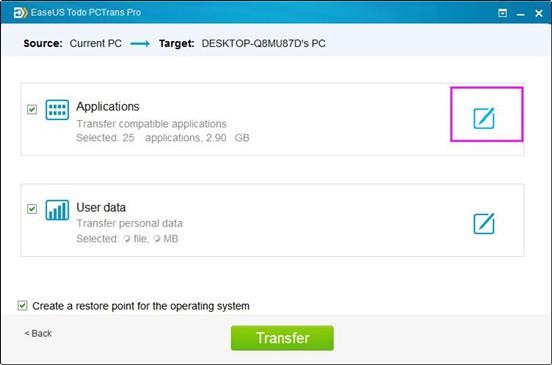 migrer les données et programmes de Windows 7 à Windows 8