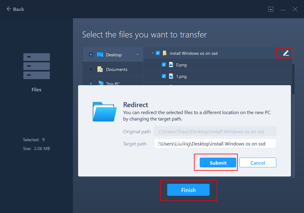 transfer files between different operating system