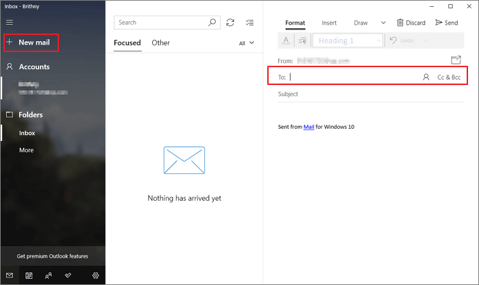 file sharing using email