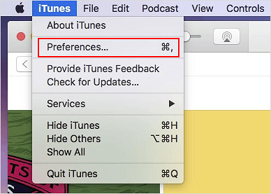 Change MP4 to MP3 on Mac.