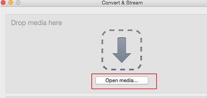 Set to convert MP4 to MP3 in VLC on Mac.