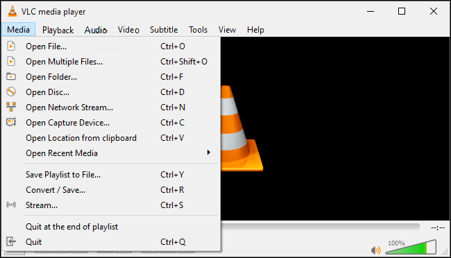 Use VLC to convert MP4.