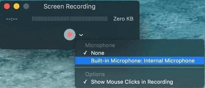 free mac screen recorder - quick time